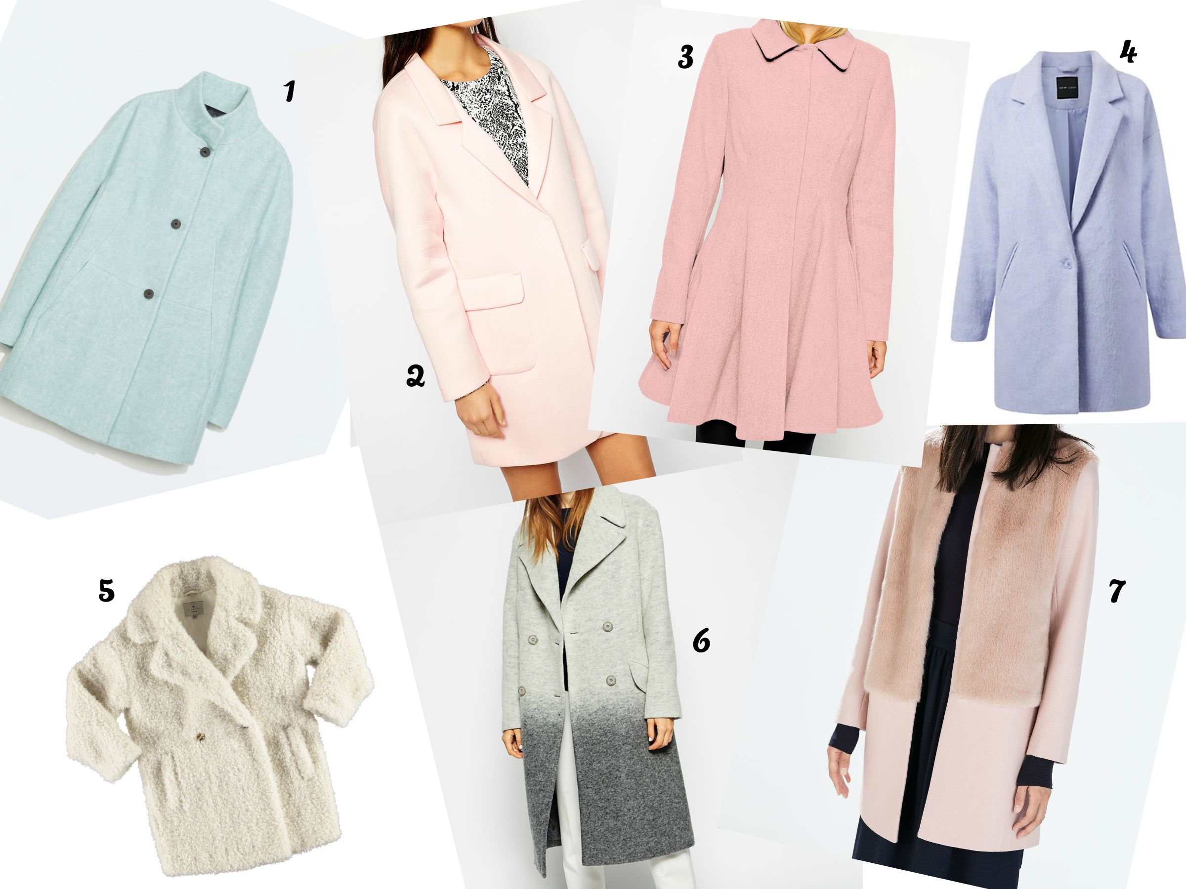 Pastel Winter coats - C'est Yoli